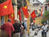 Vietnamese flag in Hoi An
