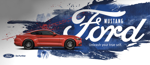 Ford Mustang poster small