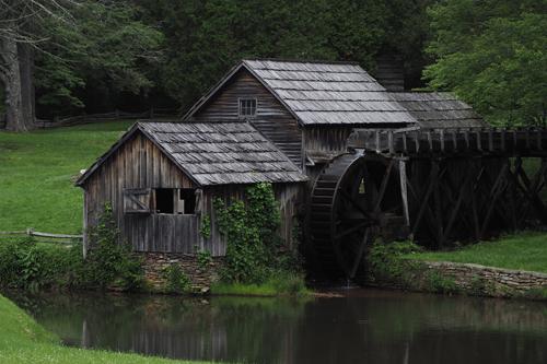 Mabry Mill, 1910
