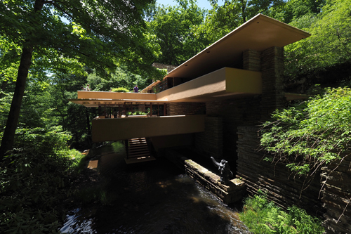 Fallingwater by Frank Lloyd Wright, Mill Run