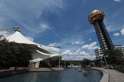 World's Fair Park and the Sunsphere Tower