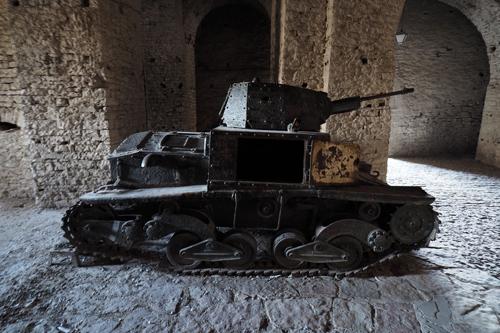 Italian Fiat tank L6/40 (1940)