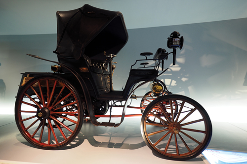 Benz Victoria (First four-wheeled automobile 1893)