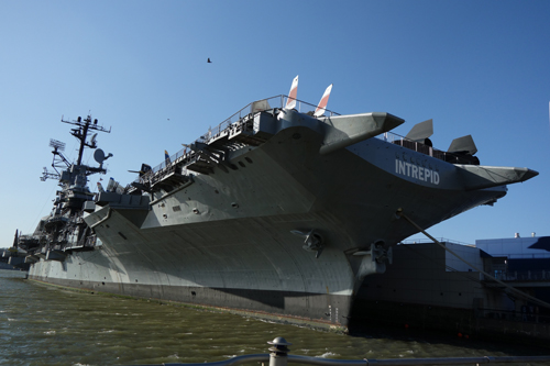 April 3, Intrepid Museum (aircraft carrier)